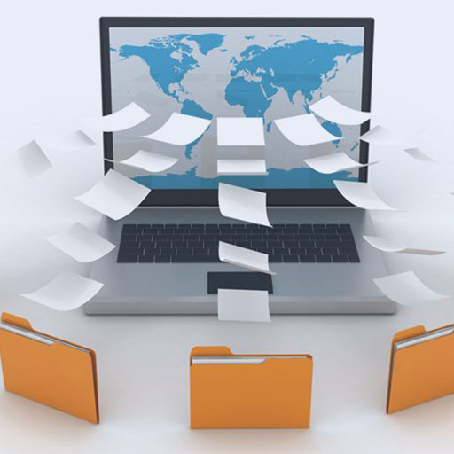 convert paper files to EMR